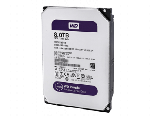 Жесткий диск Western Digital Purple 8 Тб - 2