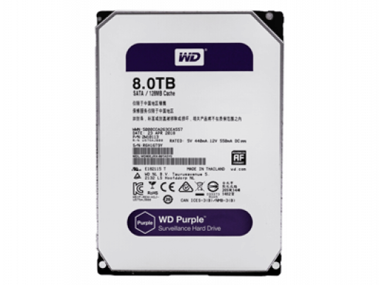 Жесткий диск Western Digital Purple 8 Тб