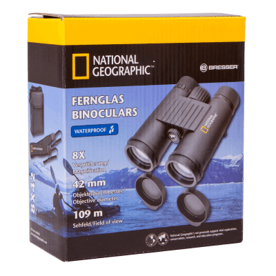 Бинокль Bresser National Geographic 8x42 WP - 7